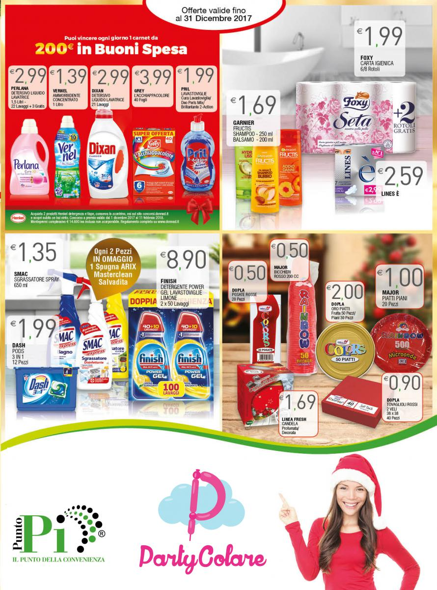 Volantino Dicembre - Detergenza